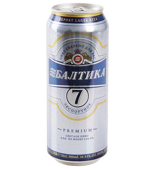 Пиво Балтика №7 экспортное  0,5л.